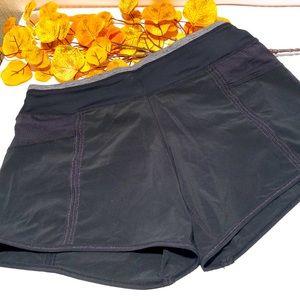 LULULEMON Shorts Black Lined